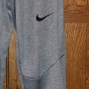 Youth Boys Gray Nike Dri Fit Joggers